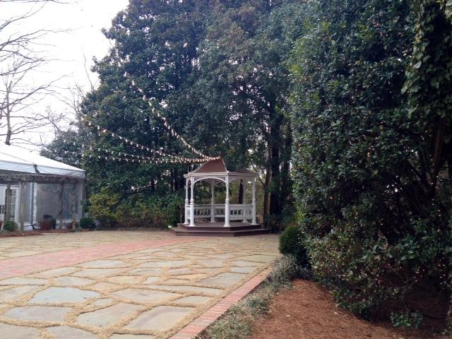 Outdoor Wedding at Flint Hill in historic Norcross near Atlanta