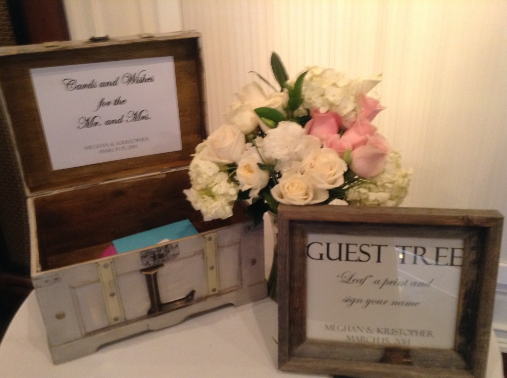 Table for guest tree at 3109 Piedmont Estates and Gardens Atlanta wedding