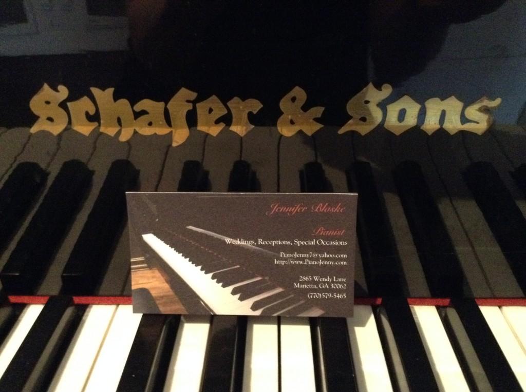 3109 Piedmont Estates and Gardens Piano wedding venue in Atlanta