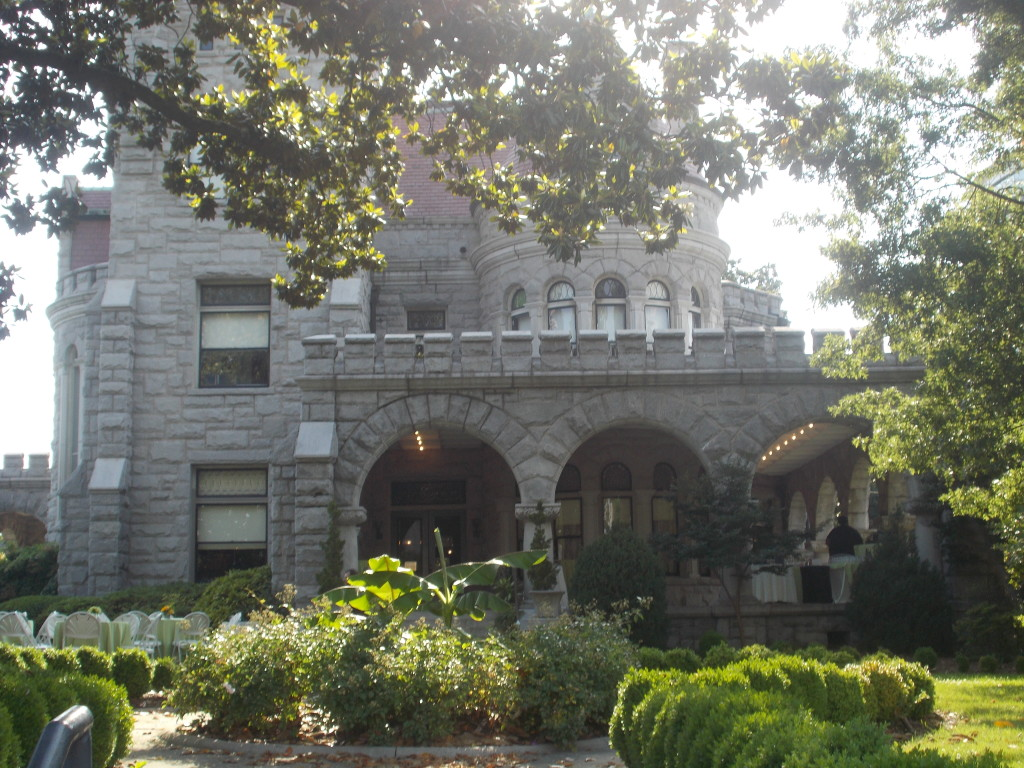 Atlanta Wedding Venue with piano Rhodes Hall Castle on Peachtree Street