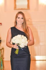 Atlanta wedding bridesmaid white bouquet Canon in D wedding piano music for processional