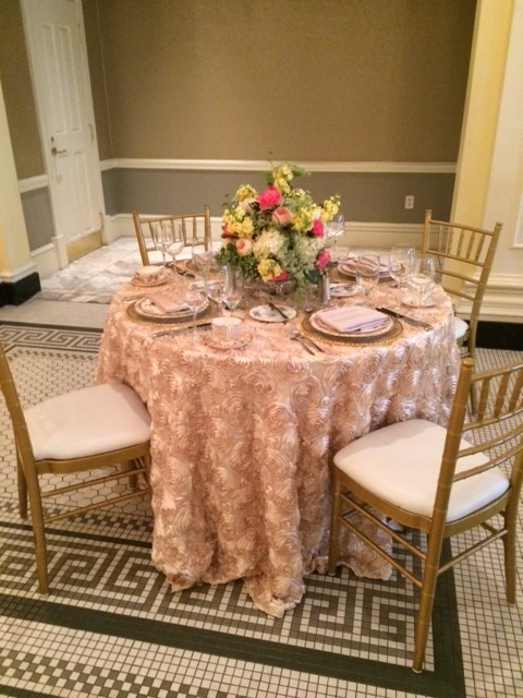 Southern Living inspired table at Georgian Terrace wedding and event venue
