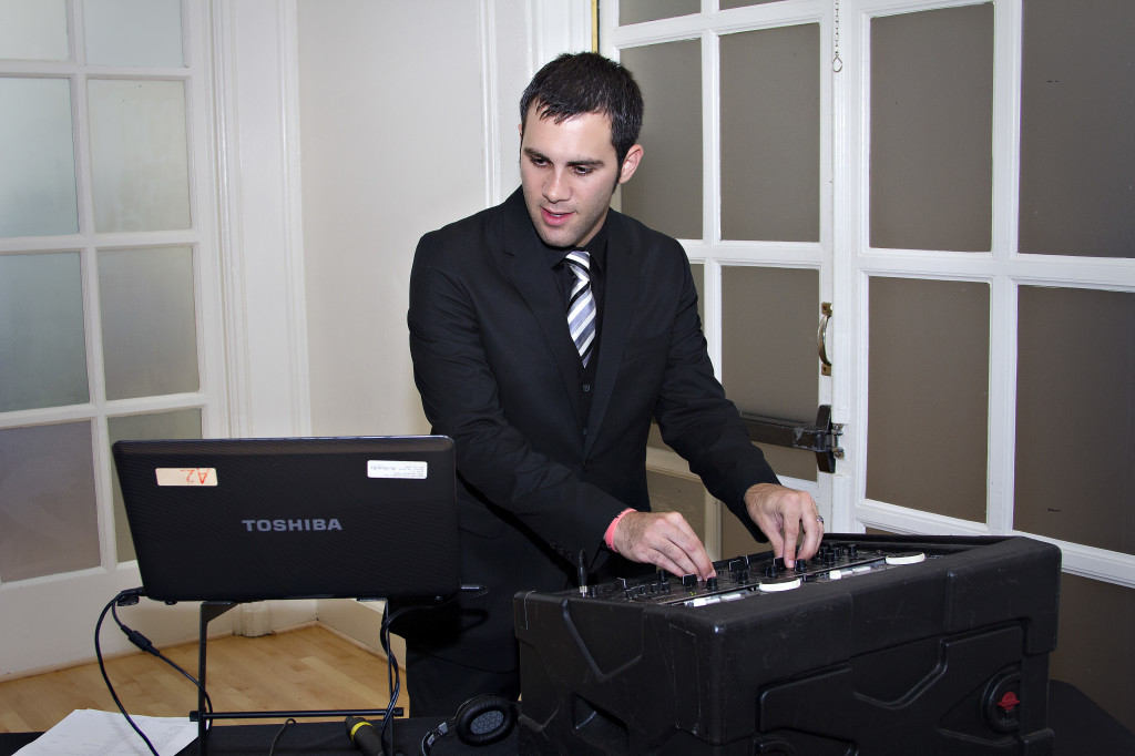 Atlanta Wedding DJ at Wimbish House wedding reception