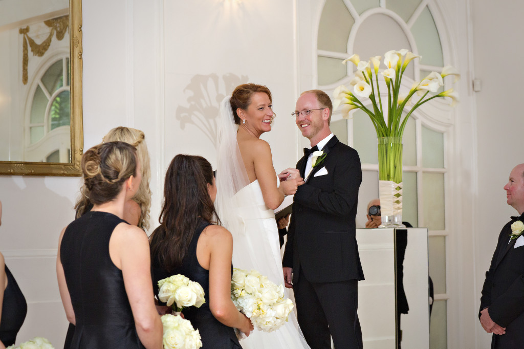 Wedding Ceremony at Wimbish House in Atlanta
