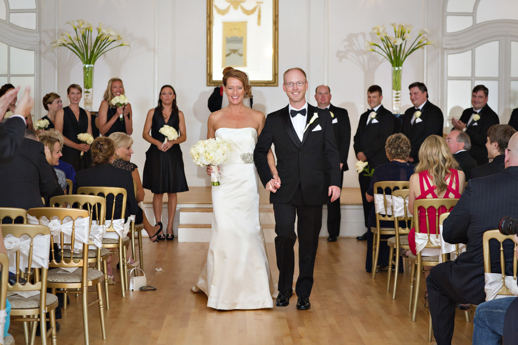 Recessional piano music for wedding ceremony at Wimbish House in Atlanta