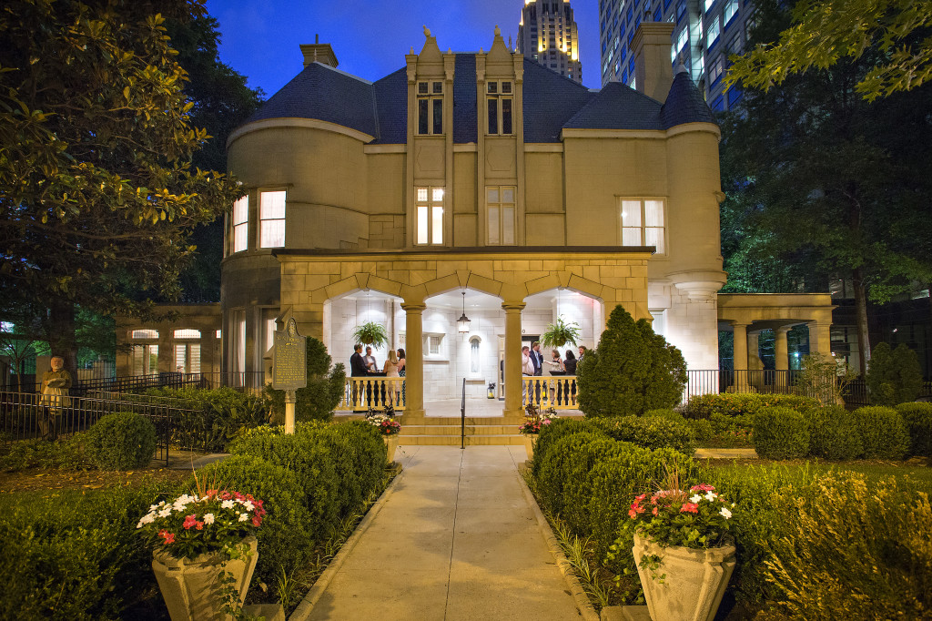 Atlanta wedding venue with Steinway piano Wimbish House on Peachtree Street
