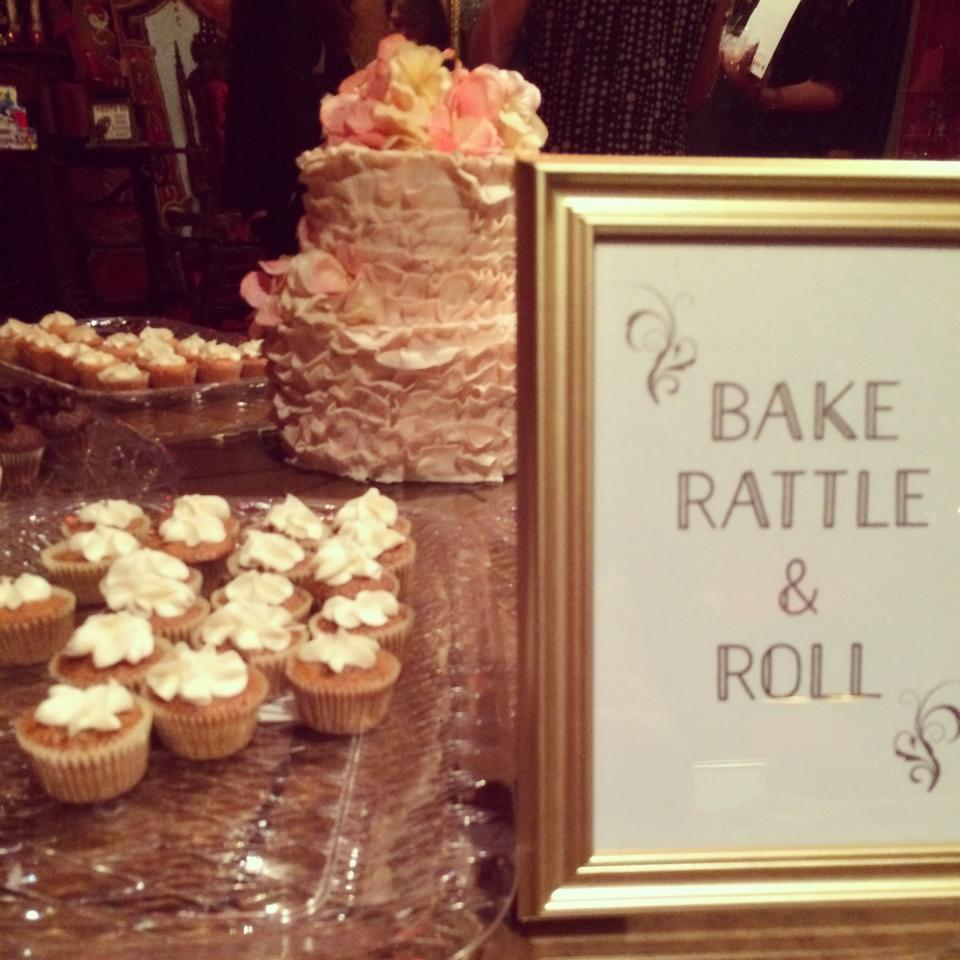 Bake, Rattle & Roll mini-cupcakes