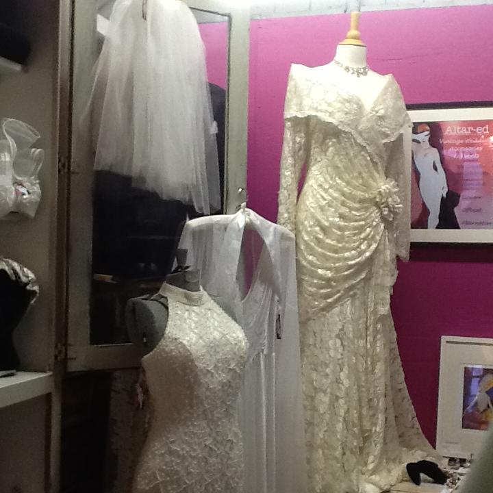 Vintage bridal gowns at Paris on Ponce in Atlanta