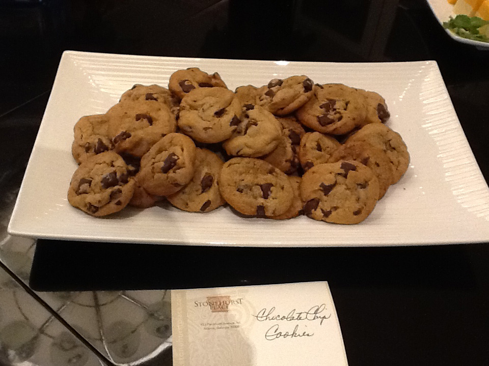 Cookies at Stonehurst Place Bed and Breakfast wedding venue in Atlanta