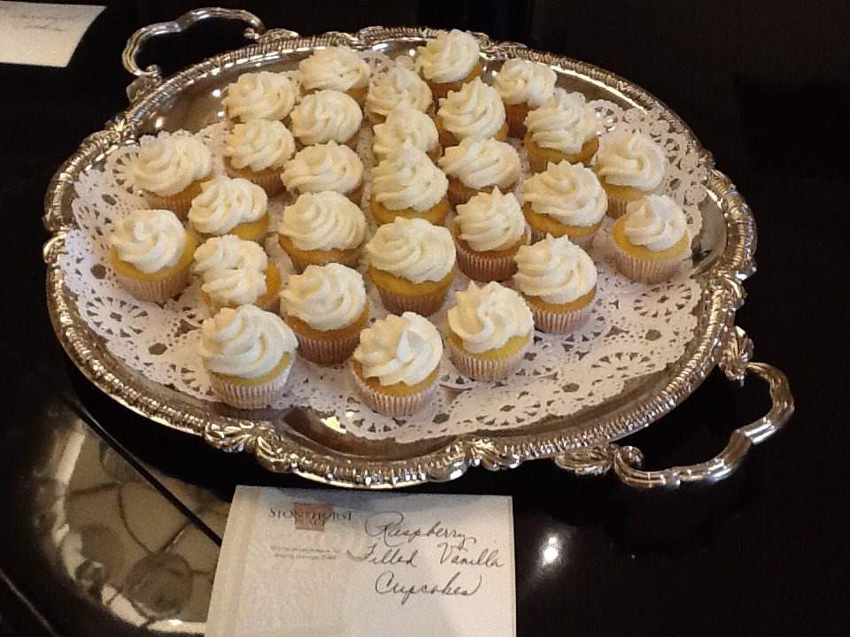 Cupcakes at Stonehurst Place Bed and Breakfast wedding venue in Atlanta