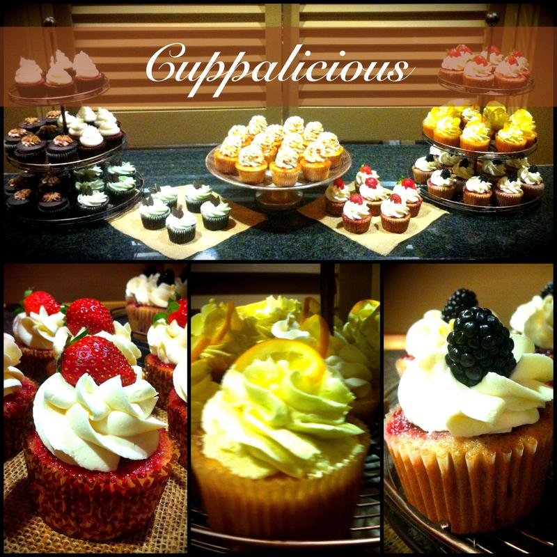 Wedding cupcakes from Cupalicious in Atlanta