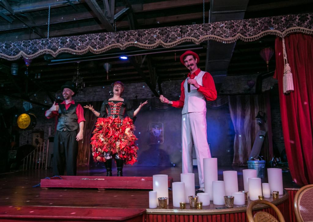 Thimblerig Circus at Le Maison Rouge in Atlanta