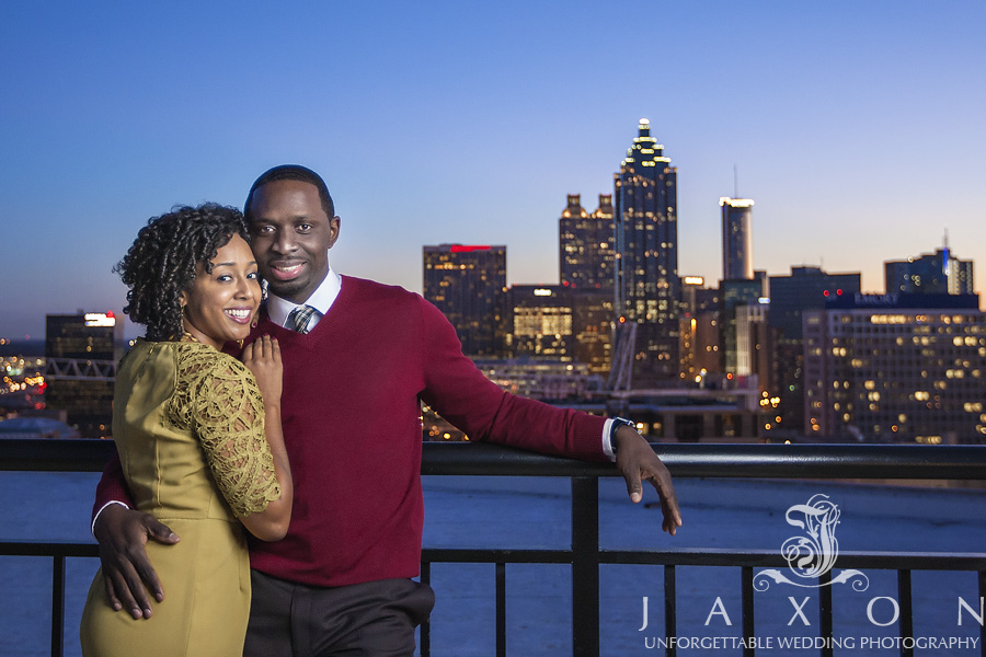 Best Engagement Photography Spots -- Georgian Terrace in Atlanta