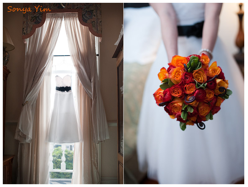Halloween Wedding at Stanley House in Marietta near Atlanta