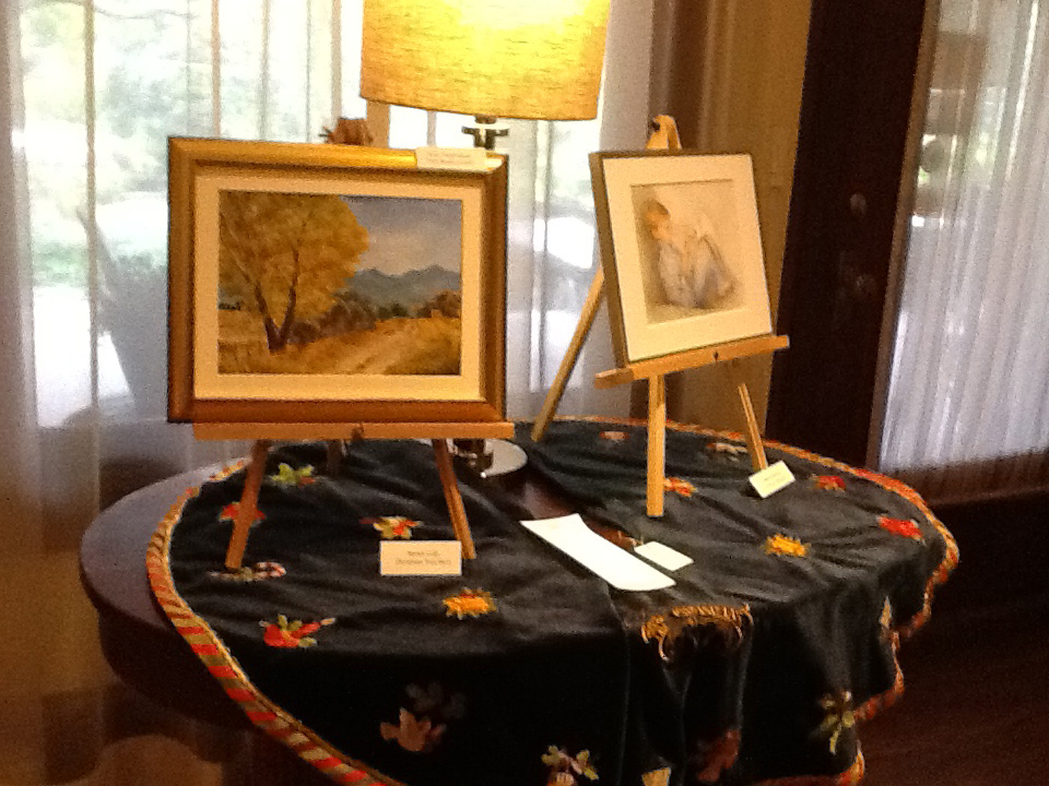 Painting at Senior Art at Stonehurst Place in Atlanta