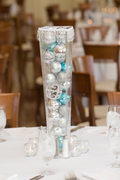 Winter wedding centerpieces and decoration ideas jennifer for Winter themed wedding centerpieces