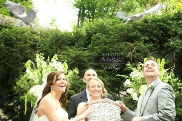 Georgia Dove white dove release for weddings