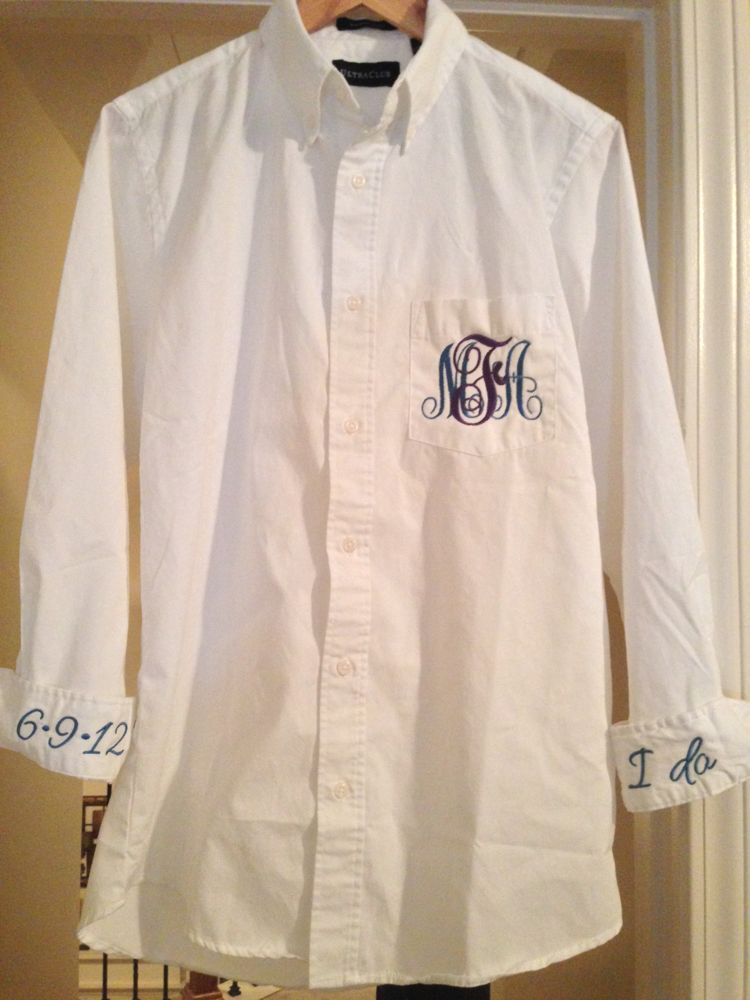 MelAnne Creations embroidered shirt