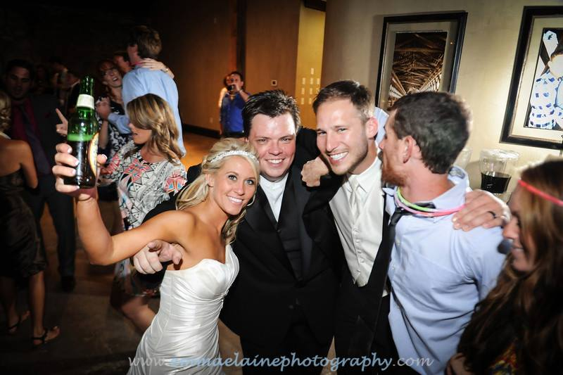 Atlanta DJ Mobile Mike DJ Service with the bride and groom