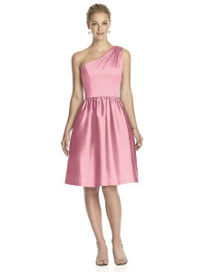 Twirl off the shoulder bridesmaid dresses with pockets