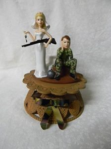 redneck deer fishing hunting wedding cake toppers wedding cake toppers mccoy blaske 19131