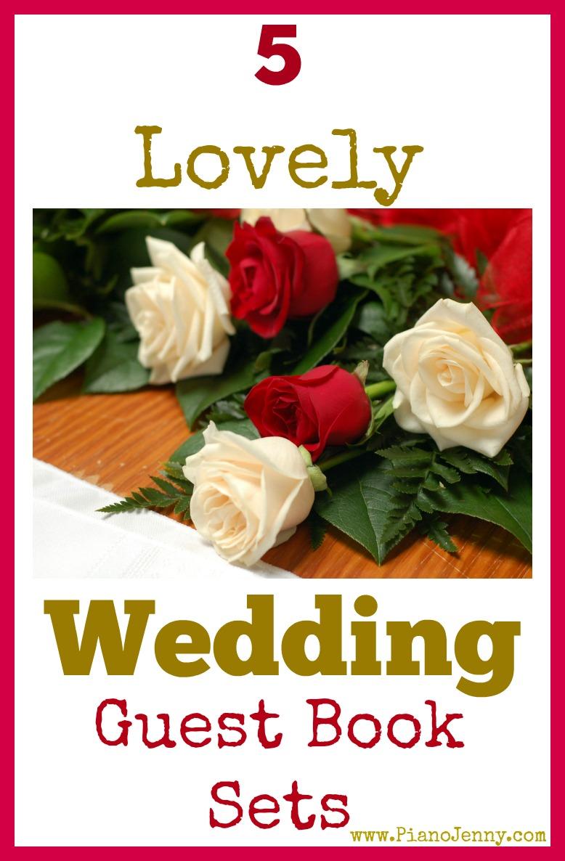 Wedding Guest Book Sets