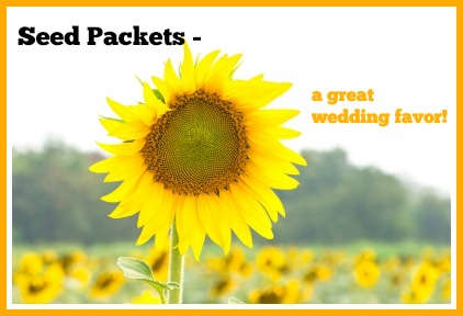 The best seed packet and seed paper wedding favors. Read to discover which one is best for you!