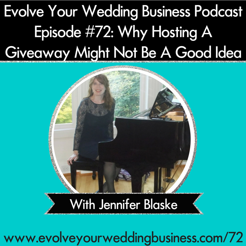 My Podcast Interview on Wedding Giveaway Contests