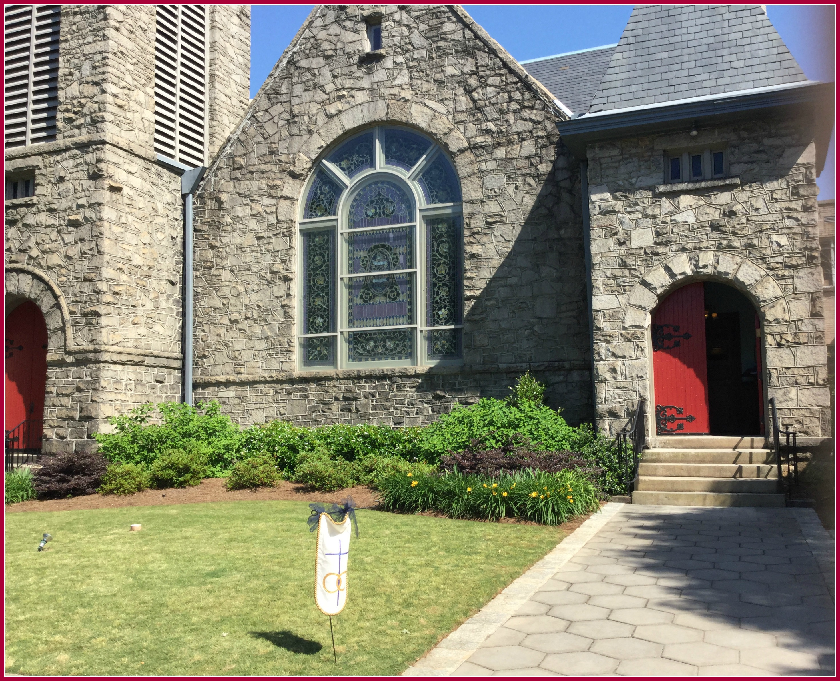 Inman Park United Methodist Church Wedding
