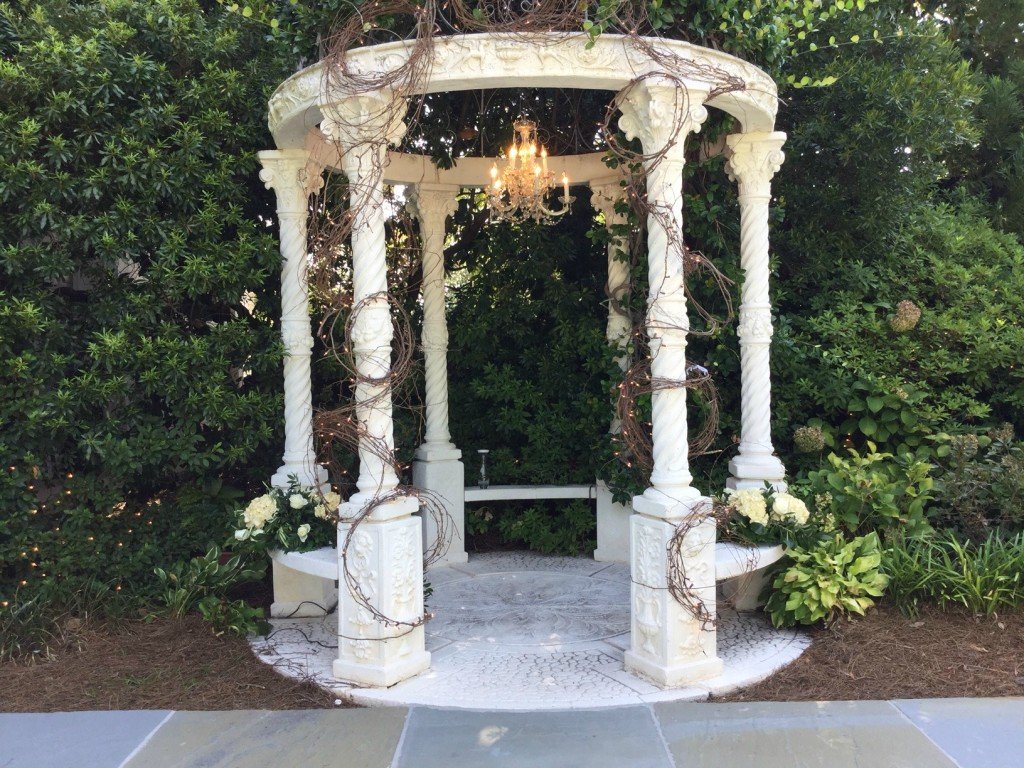 Outdoor Wedding Ceremony at The Atrium near Atlanta
