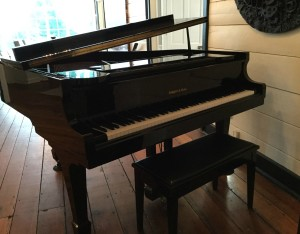 Piano at The Estate wedding and event venue in  Atlanta