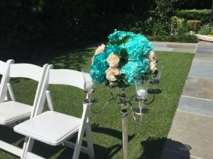 Outdoor wedding ceremony at The Atrium near Atlanta