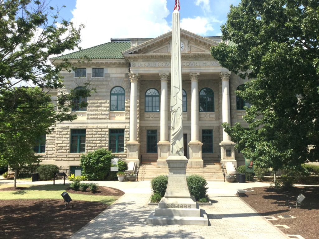 Wedding Ceremony at Old Historic Courthouse in Decatur